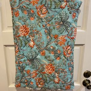 2 Pillow Shams Cottage Quilted World Market Floral